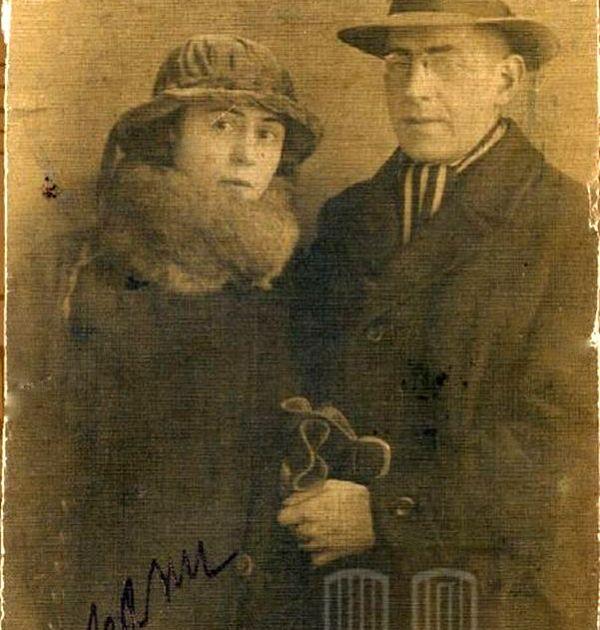 Фани Попова-Мутафова и Чавдар Мутафов. Държател Национален литературен музей