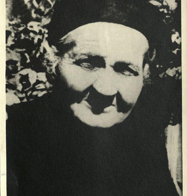 Елисавета Измирлиева – майката на Христо Смирненски. Държател Институт за литература – БАН
