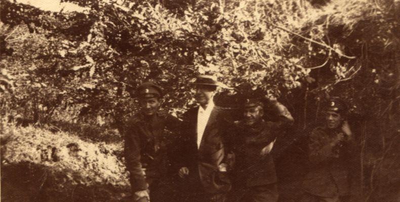 Кирил Христов и други в Княжево, 12.09.1918 г. Държател Институт за литература – БАН