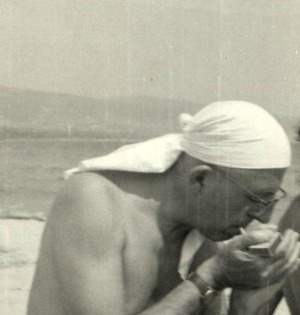 Димитър Димов във Варна, 1963 г. Държател Национален литературен музей