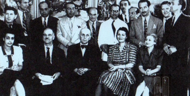Българска писателска делегация в Румъния, 1945 г. Държател Национален литературен музей
