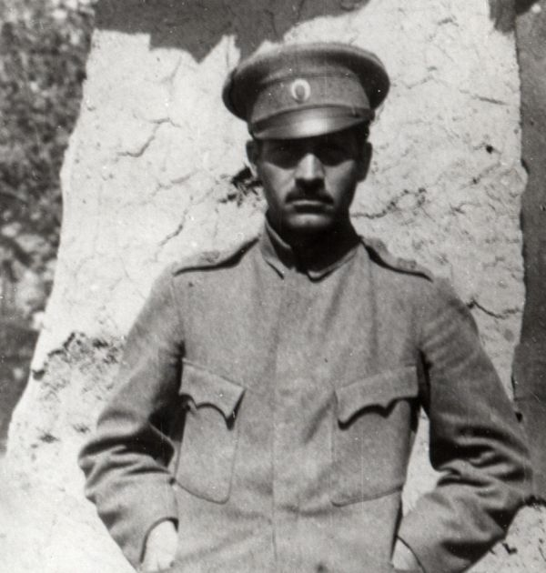 Людмил Стоянов на фронта, 28.08.1918 г. Държател Институт за литература – БАН