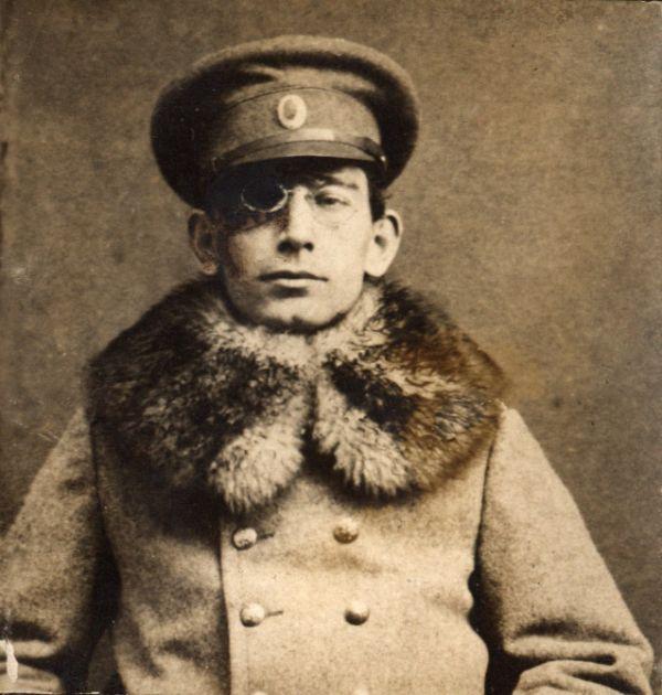 Гео Милев след раняването му на фронта 1(4). Държател Институт за литература – БАН