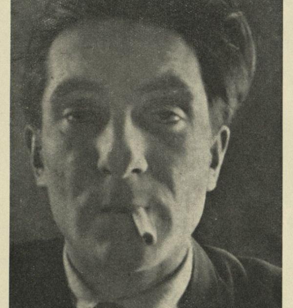 """Снимката е публикувана в Албум """"Кормило"""". Държател Национален литературен музей"""